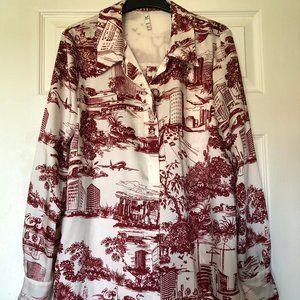 Zara City Print Shirt